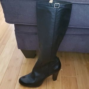 Like Brand New Frye knee high black boots